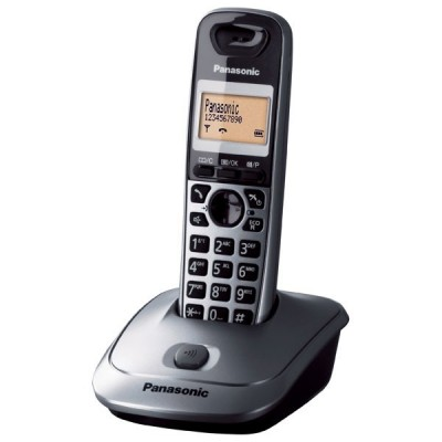 Panasonic Ασύρματο Τηλέφωνο KX-TG2511GRM Titanium