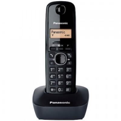 Panasonic Ασύρματο Τηλέφωνο KX-TG1611GRH (Black)
