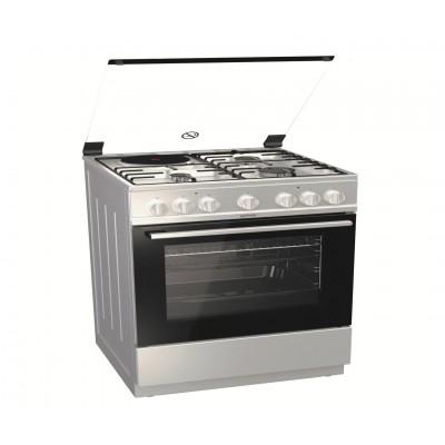 Gorenje K6241 XD Ιnox Κουζίνα αερίου μεικτή