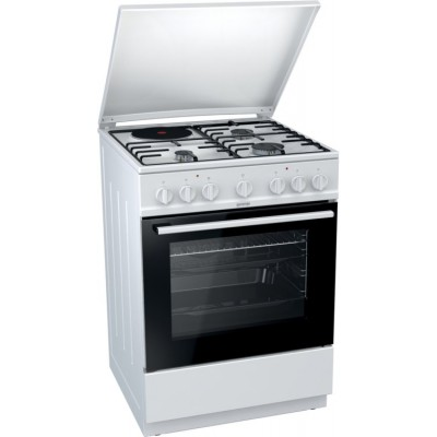 GORENJE K6241WD Κουζίνα αερίου & ηλεκτρική