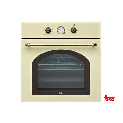 Teka HR 750 Country Style Μπεζ 60 cm Φούρνος Άνω Πάγκου - Σε 12 άτοκες δόσεις