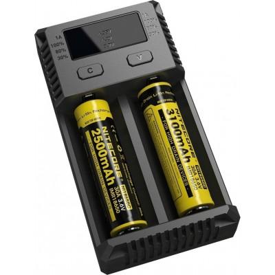NiteCore IntelliCharger New i2 Φορτιστής μπαταριών λιθίου