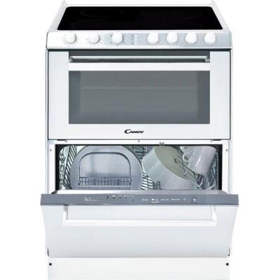 Candy Trio 9503 /1W Σύστημα Κουζίνας Κεραμικής με Φούρνο και Πλυντήριο Πιάτων