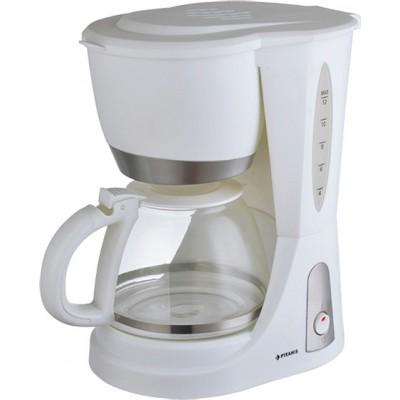 Pyramis WI1001 Λευκή Καφετιέρα Φίλτρου 040002601
