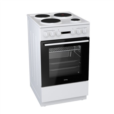Korting KE 5141 WJ Κουζίνα με Εμαγιέ Εστίες 50cm