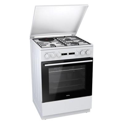 Korting KK 64 W κουζίνα Μεικτή-Αερίου Λευκή