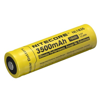 NiteCore NL1835 Επαναφορτιζόμενη Μπαταρία 18650 Lithium 3.6V 3500mAh
