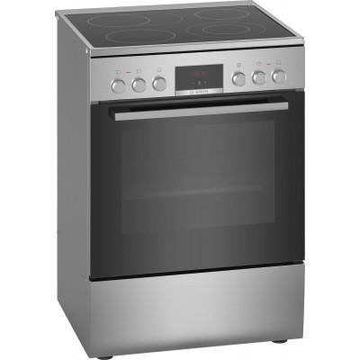 Bosch HKR39C250 Κεραμική Κουζίνα Inox