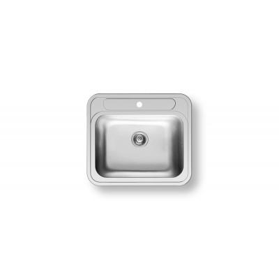 Pyramis Atria Νεροχύτης ένθετος λείος (57.5x50.5) 1B Inox 100081501