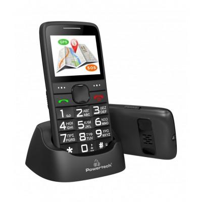 POWERTECH Sentry GPS, SOS Call, Dual Sim Κινητό Τηλέφωνο