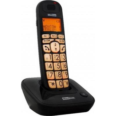 Maxcom MC6800 Μαύρο Ασύρματο Ψηφιακό (συμβατό με ακουστικά βαρηκοΐας)