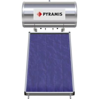 Pyramis 160lt / 2m² Ηλιακός Θερμοσίφωνας Επιλεκτικού συλλέκτη Τριπλής Ενέργειας