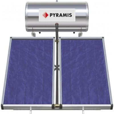 Pyramis 160Lt / 3m² Ηλιακός Θερμοσίφωνας Επιλεκτικού συλλέκτη Διπλής Ενέργειας (026000405)