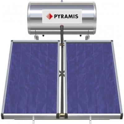 Pyramis 160Lt / 3m² Ηλιακός Θερμοσίφωνας Επιλεκτικού συλλέκτη Τριπλής Ενέργειας (026001205)