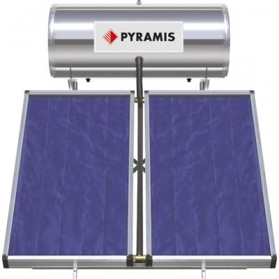 Pyramis 200Lt / 3m² Ηλιακός Θερμοσίφωνας Επιλεκτικού συλλέκτη Τριπλής Ενέργειας (026001305)
