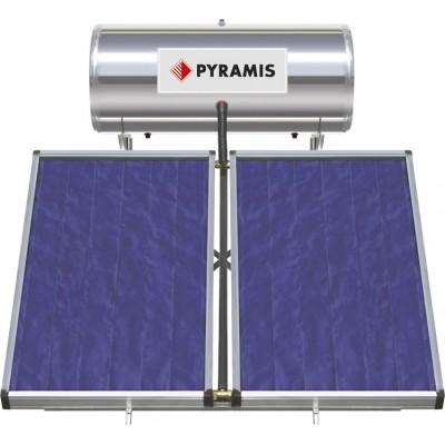 Pyramis 200Lt / 4m² Ηλιακός Θερμοσίφωνας Επιλεκτικού συλλέκτη Διπλής Ενέργειας (026000605)