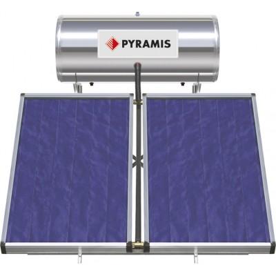 Pyramis 200Lt / 4m² Ηλιακός Θερμοσίφωνας Επιλεκτικού συλλέκτη Τριπλής Ενέργειας (026001405)