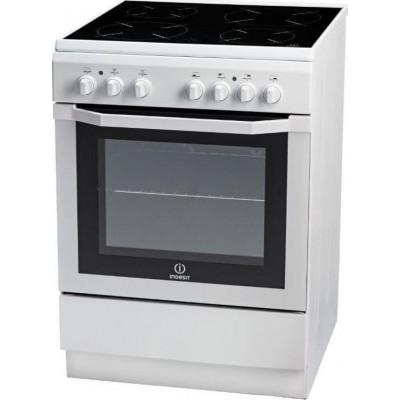 Indesit I6VMH2A (W) GR Κεραμική Κουζίνα