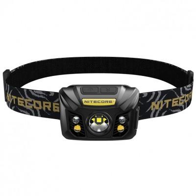 NiteCore NU32 Επαναφορτιζόμενος Φακός Κεφαλής Black