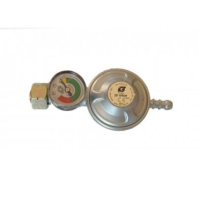 Landmann LD 1031B Ρυθμιστής Πίεσης Με Μανόμετρο