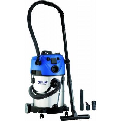 Nilfisk Multi II 30 T Inox VSC Ηλεκτρική Σκούπα Υγρών - Στερεών