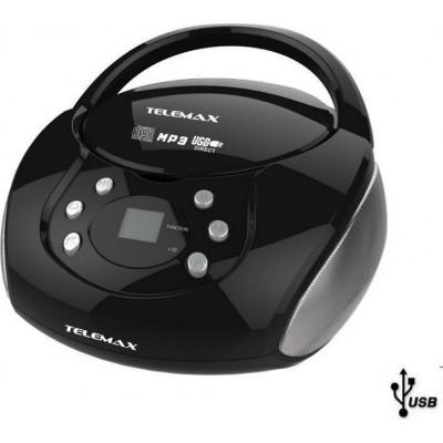 Telemax H2038U Φορητό ράδιο-CD/MP3