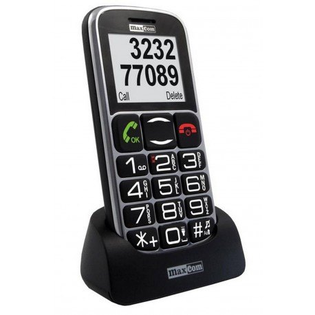Maxcom MM462BB Μεγάλα Πλήκτρα, Bluetooth, Ραδιόφωνο (Λειτουργεί χωρίς Handsfree), Φακό, Κάμερα & Πλήκτρο Έκτακτης Ανάγκης
