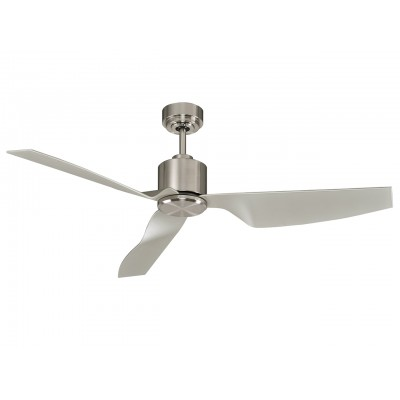Lucci Air Climate II Brushed Chrome Ανεμιστήρας Οροφής