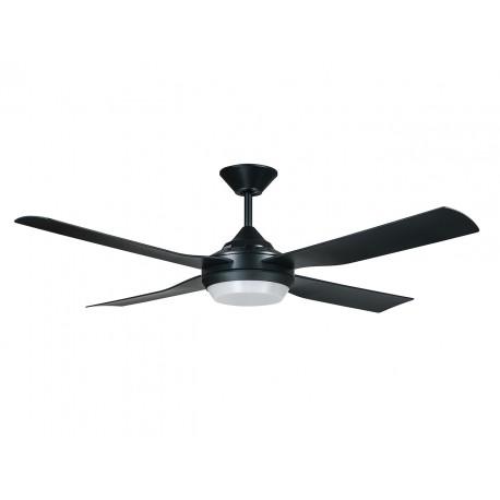 Lucci Air Moonah Black Led Ανεμιστήρας Οροφής