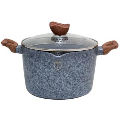 Berlinger Haus BH-1528 κατσαρόλα για ζυμαρικά και ρύζι 24εκ. με καπάκι-σουρωτήρι