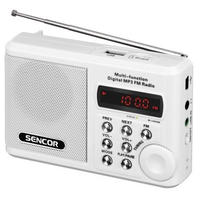 Sencor SRD 215 W White Φορητό Ραδιόφωνο