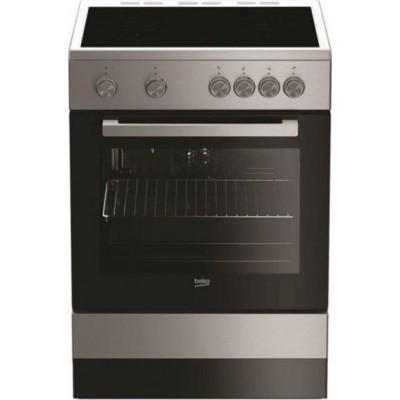 Beko FSM 67010 GX Κεραμική Κουζίνα