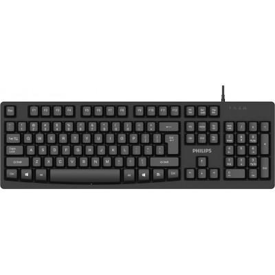 Philips SPK6214 Black Ενσύρματο πληκτρολόγιο