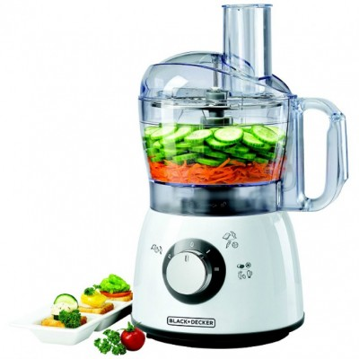 Black & Decker FX400 White Food Processor