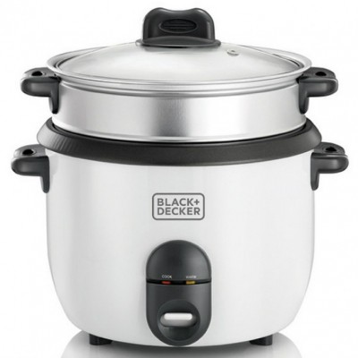 Black & Decker RC1860QS White Rice Cooker