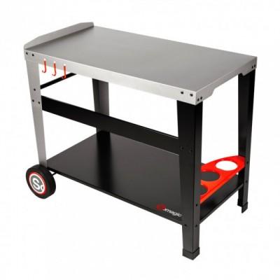 "Somagic Sidelia 909147001 Μεταλλικό τραπέζι για τοποθέτηση ψησταριάς υγραερίου ""Plancha"""