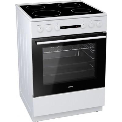 Korting KEC 6141 WPG 71lt Ελεύθερη κουζίνα Κεραμική