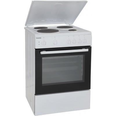 Eskimo ES 4020 W Ηλεκτρική Κουζίνα Εμαγιέ