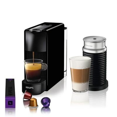 Krups XN1118S Essenza Mini & Aeroccino Καφετιέρα Nespresso Mini + Δώρο Κουπόνι αξίας 30 Ευρώ + Δώρο 14 Κάψουλες