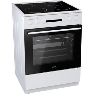 Korting KEC 6151 WPG Κεραμική Κουζίνα (έως 12 άτοκες δόσεις)