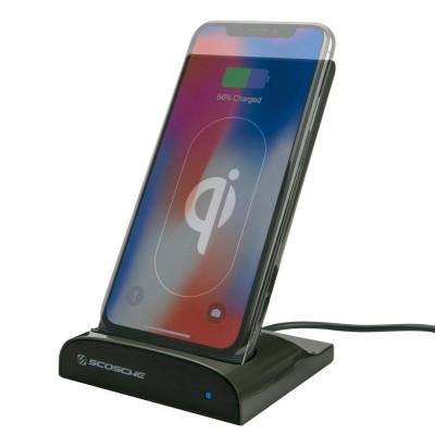 Scosche Wireless Charging Dock with Portable Powerbank - Ασύρματος Φορτιστής 2 σε 1