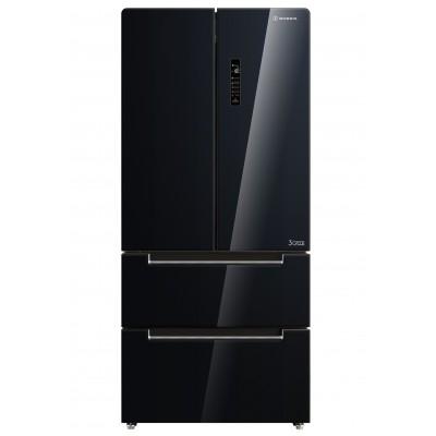 Morris B94500NFG Black Glass Ψυγείο Ντουλάπα