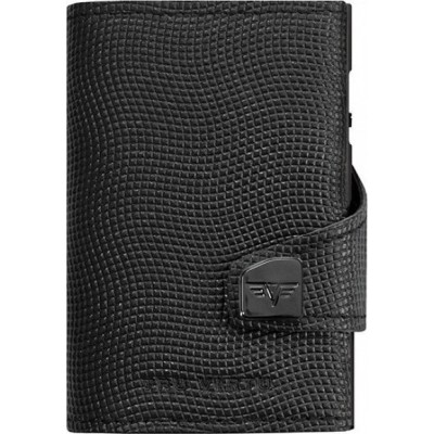Tru Virtu Click & Slide Lizzard Wallet Black
