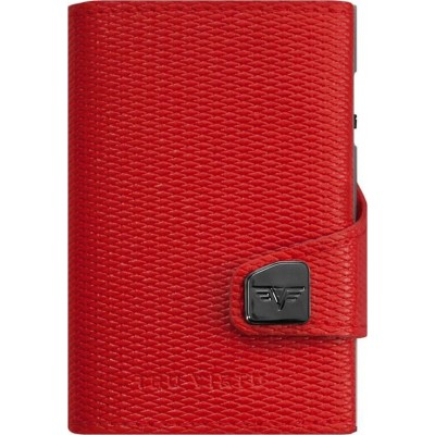 Tru Virtu Click & Slide Rhombus Wallet Coral/Red