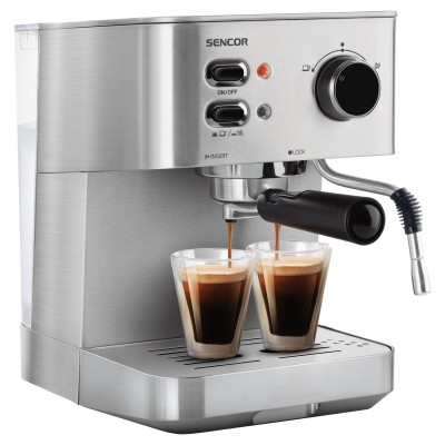 Sencor SES 4010SS Μηχανή Espresso