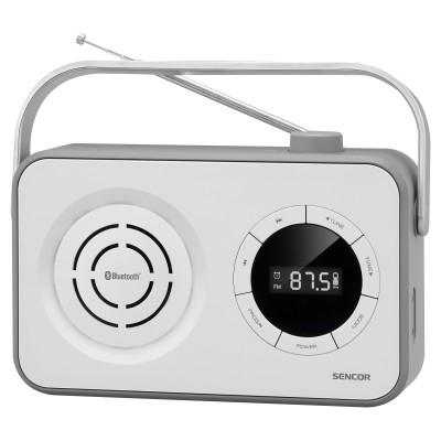Sencor SRD 3200 White Φορητό Ραδιόφωνο