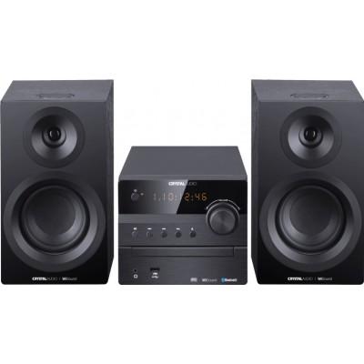 Crystal Audio 3D-HiFi360B Black Mini HiFi