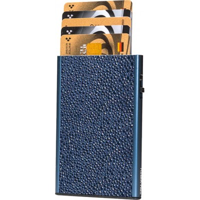 Tru Virtu Click & Slide Sting Ray Blue/Titan Θήκη Καρτών