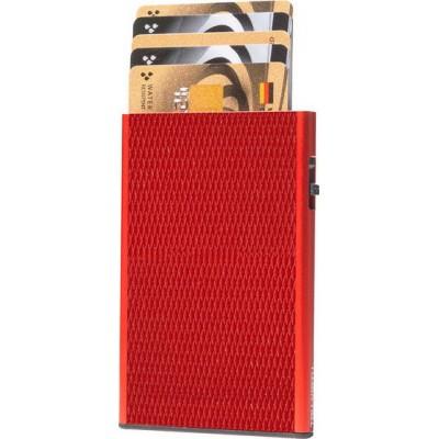Tru Virtu Click & Slide Rhombus Coral/Red Θήκη Καρτών