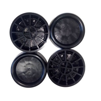 Roller 00679 Black(Αντικραδασμικά πέλματα για πλυντήρια-στεγνωτήρια)